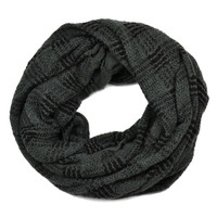 Two-Tone Infinity Scarf Grey » West Of Camden