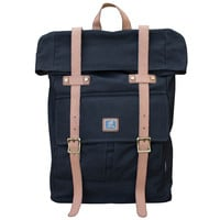 Army Green Multi-Pocket Canvas Backpack