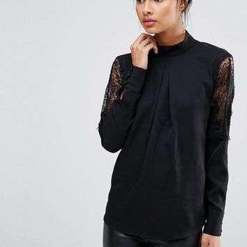 Y.A.S | Y.A.S Alche Long Sleeve Top chez ASOS