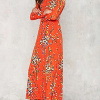 Vintage Blossom More Maxi Dress
