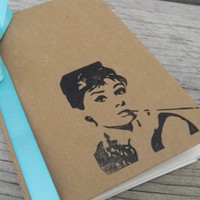 Audrey Hepburn Breakfast At Tiffany's Bridesmaid Gift Journal