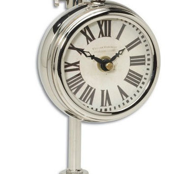 Uttermost Pocket Watch Nickel Marchant Cream - 06070
