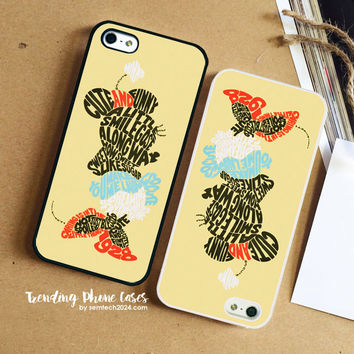 Ladies Minnie Mouse Words  iPhone Case Cover for iPhone 6 6 Plus 5s 5 5c 4s 4 Case