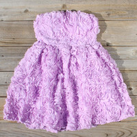Sugared Lavender Party Dress