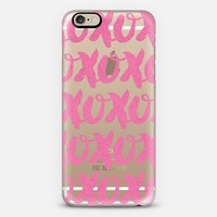 XOXO 03 iPhone 6 case by Tracey Coon | Casetify