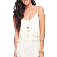 Rip Curl Venture Fringe Dress at PacSun.com