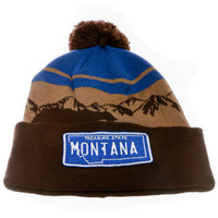 Montana Big Sky Country Beanie
