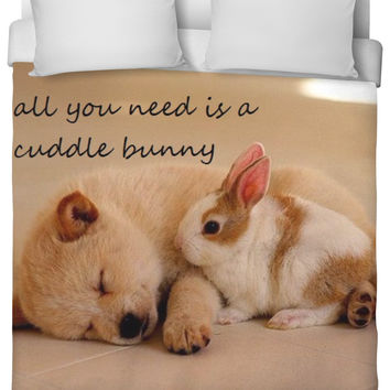 all you need is a cuddle bunny