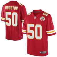 Justin Houston Kansas City Chiefs Nike Team Color Limited Jersey - Red