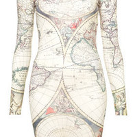 Atlas Map Dress By Tee And Cake - New In This Week  - New In