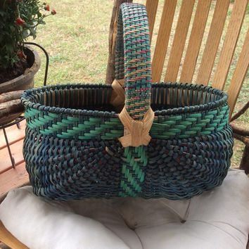 Oval Melon Egg Basket w/ Twill handle Kit
