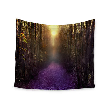 "Viviana Gonzalez ""Nostalgia"" Purple Digital Wall Tapestry"