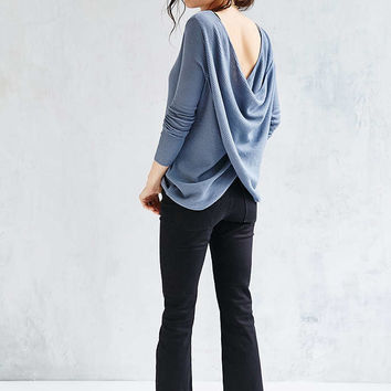Kimchi Blue Surplice Back Pullover Sweater - Urban Outfitters