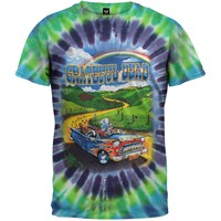 Grateful Dead - Truckin Buffalo Tie Dye T-Shirt