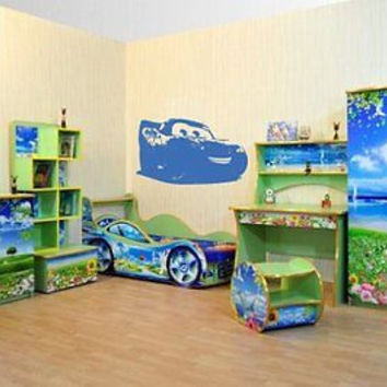 Cars  Nursery Room Decor Wall Art Sticker decal Ar49