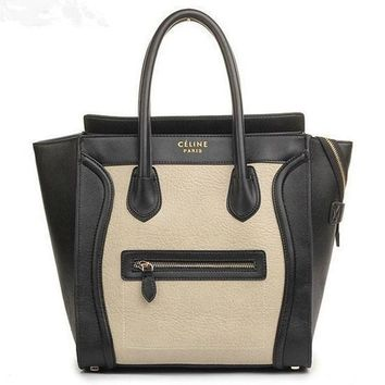 ONETOW CELINE LUGGAGE PHANTOM SQUARE BAG TOTE HANDBAG