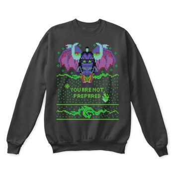 DCCKON7 World Of Warcraft Illidan Stormrage You Are Not Prepared Ugly Sweater
