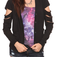 Teenage Runaway Slash Sleeve Cardigan