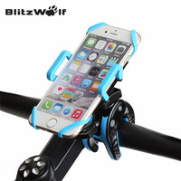 BlitzWolf Bike Phone Mount Holder Universal 360 degree Rotate Mobile Phone Stand Support Phone For iPhone 7 6 For Samsung
