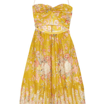 Zimmermann - Confetti floral-print cotton dress