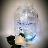 Hand painted candle holder / lantern / night light.....MADE TO ORDER.