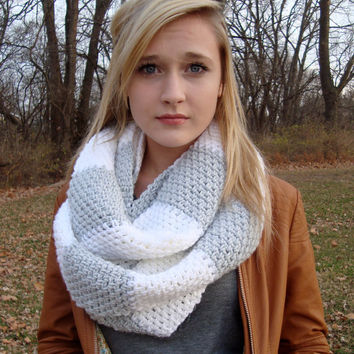 Shop Striped Crochet Cowls On Wanelo