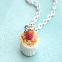 creme brûlée necklace