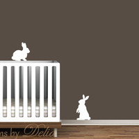 Bunnies Wall Decal - Set of 2