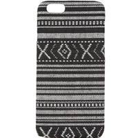 With Love From CA Black White Tribal iPhone 5/5S Case - Womens Scarves - Black - One