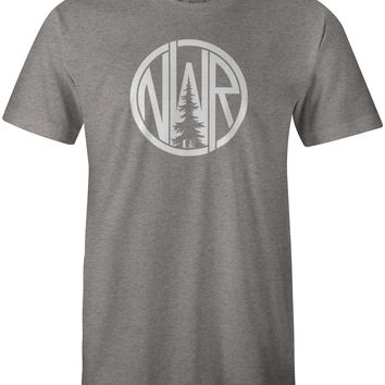 Monogram T-Shirt Dark Grey Heather