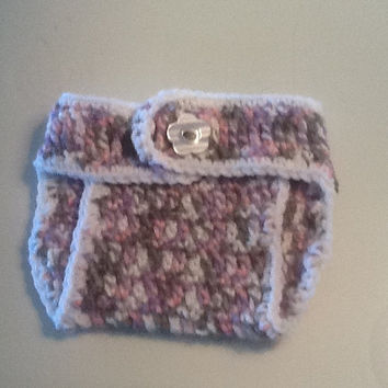 crochet  diaper cover, baby diaper cover, baby photo prop , newborn diaper cover, adjustable diaper cover