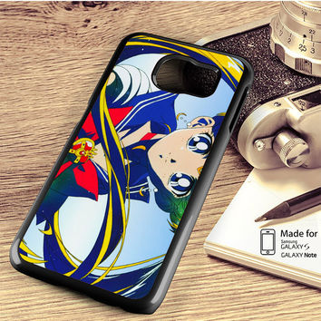 Sailor Moon Color Samsung Galaxy S4 S5 S6 Edge Plus S7 Edge Case Note 3 4 5 Edge Case