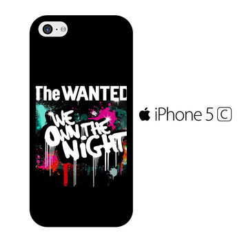 The Wanted We Own The Night iPhone 5C Case