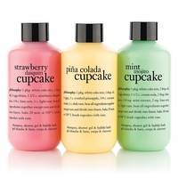 cake me to paradise | shampoo, shower gel & bubble bath set | philosophy under $50