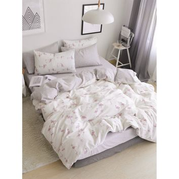 Flamingo Print Bedding Set