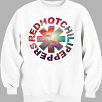 Red Hot Chili Peppers RHCP Galaxy Sweater for Mens Sweater and Womens Sweater ***