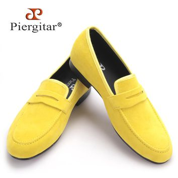 British style Plus Size Men Velvet Casual Shoes Men Penny Loafers Party and Banquet Male's Flats Size US 4-17 Free shipping