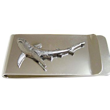 Blue Shark Money Clip