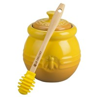 Le Creuset - Product Information: Honey Pot with Silicone Dipper
