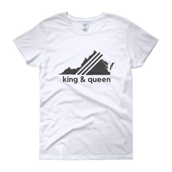 "King & Queen County, Virginia ""Vintage"" - Women's T-shirt"