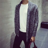 Mens Casual Over Sweater