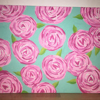 LILLY PULITZER Canvas Painting