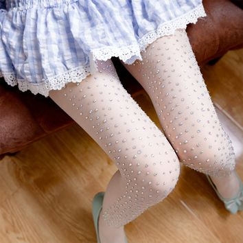 Embroidery (flash drill), any cut pearl stockings, pantyhose socks