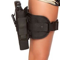 Gun Leg Holster - As Shown