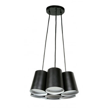 Euro Style Collection Barcelona   7 Light  Cluster Ceiling Pendant
