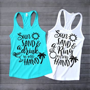 Beach Bride Bachelorette Party Tank Tops