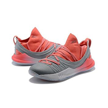 Under Armour Ua Curry 5 Pink/gray Basketball Shoe   Best Deal Online