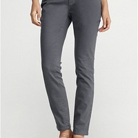 Slim Ankle Jean in Garment-Dyed Organic Stretch Twill