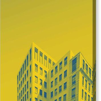 Urban Architecture   Canary Wharf, London  United Kingdom 4a - Canvas Print
