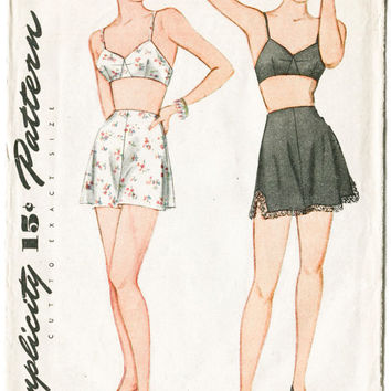 Patterns For Lingerie 34